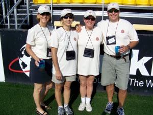Heidi, Marianne, Stephanie & Michael.