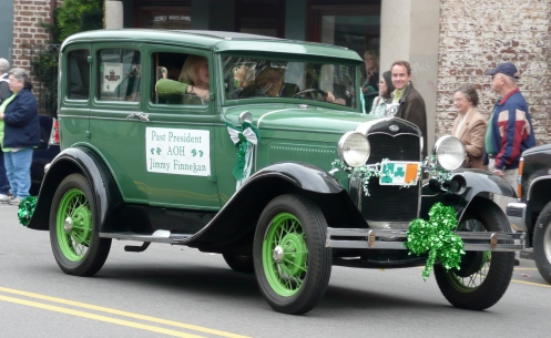 St. Paddy's Day Parade Rolls Down King Street.