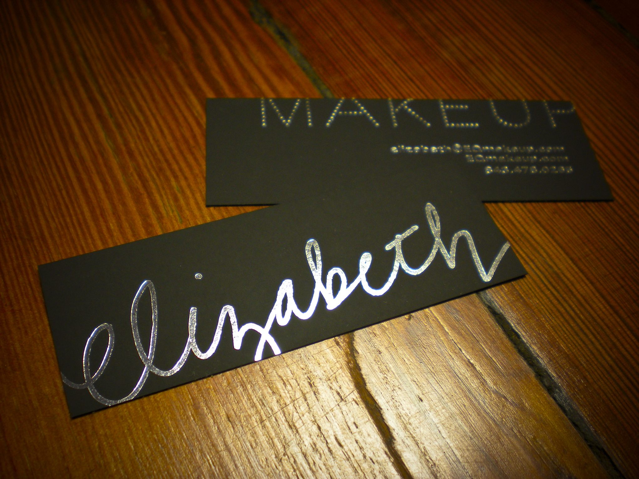 hookers unveil business card for a makeup artist - Makeup Artist Business Cards