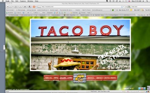 TacoBoy Homepage